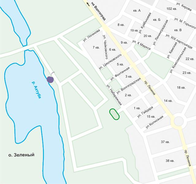Mega Space на карте
